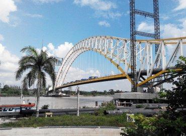 loading test jembatan kukar