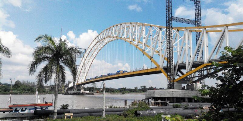 loading test jembatan kukar