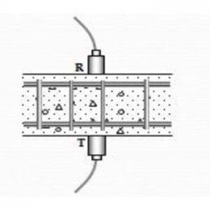 metode direct ultrasonic pulse velocity test