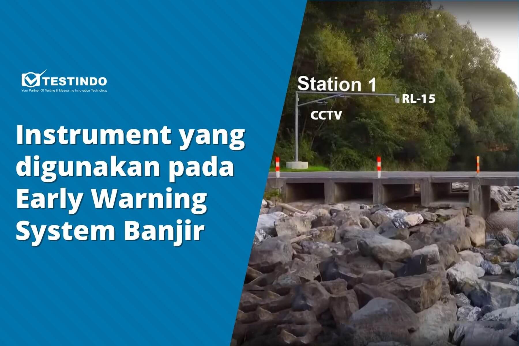 instrument ealry warning system banjir